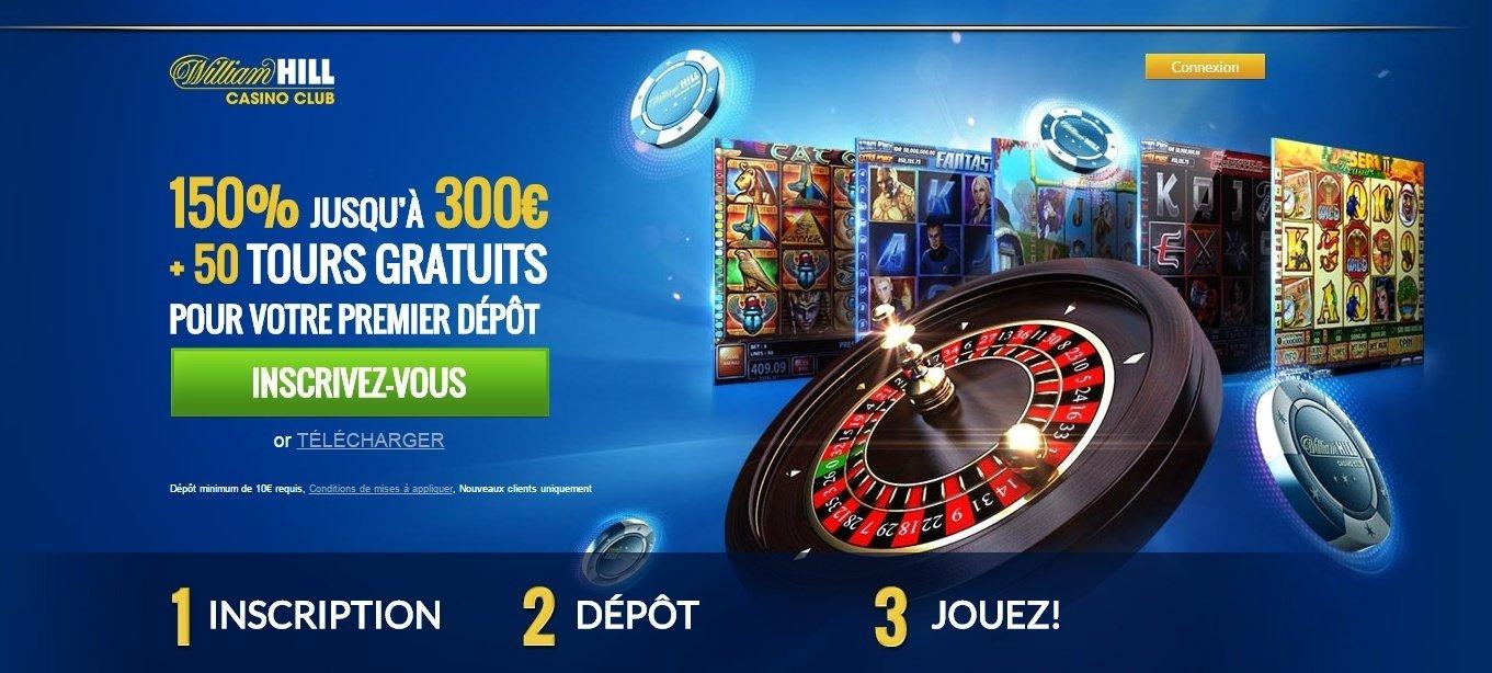 William Hill Casino Club Ipad