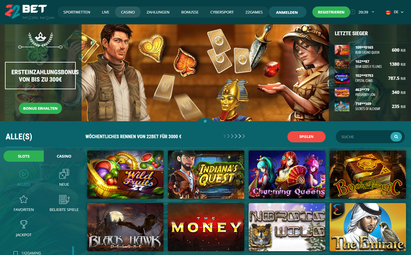 Casino Bewertung Online